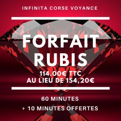 Forfait Rubis / Infinità Corse Voyance