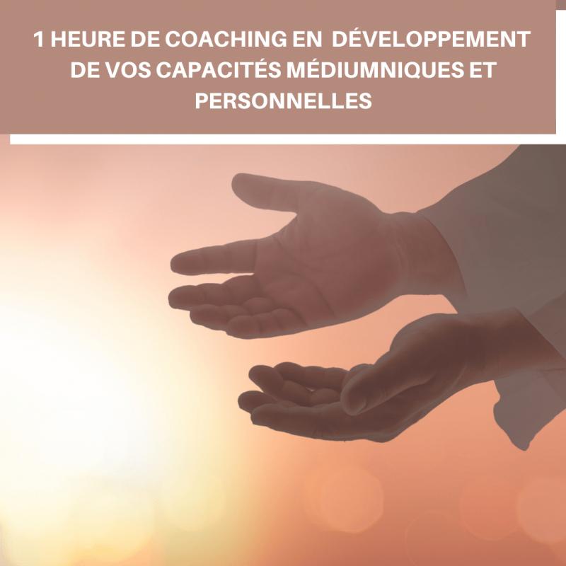 1 heure de coaching en développement des capacités médiumniques personnelles