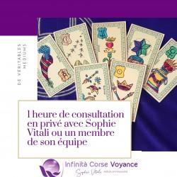 Infinità Corse Voyance / 1 heure de consultation privée